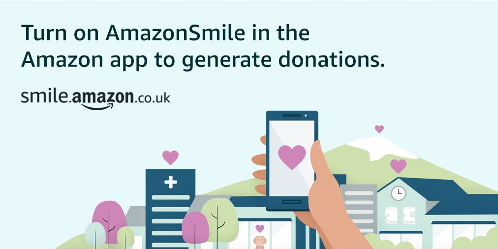 AmazonSmile customers can now support Bring Back The Smile To Nepal in the Amazon shopping app